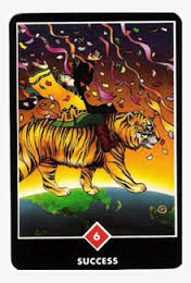 Success by Osho Zen Tarot Card
